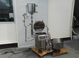 蒸気圧釜(蒸気装置)